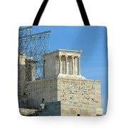 Temple Of Athena Nike Tote Bag
