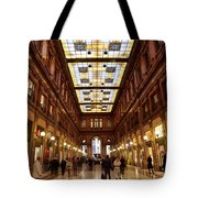 Temple Of Commerse Tote Bag