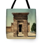 Temple Of Debod Tote Bag