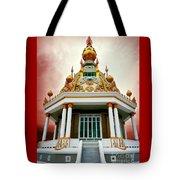 Temple Of Dramatic Art Tote Bag