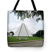 Temple Of Good Will Tote Bag