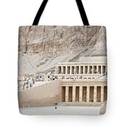 Temple Of Hatsepsut In Egypt Tote Bag