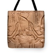 Temple Of Horus Relief Tote Bag by Stephen & Donna O'Meara