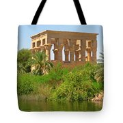 Temple Of Isis Among The Trees Tote Bag