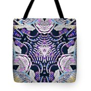 Temple Of Simha Tote Bag by Derek Gedney