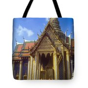 Temple Of The Emerald Buddha Tote Bag