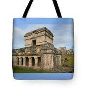 Temple Of The Frescoes Tote Bag