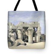 Temple On Nile Tote Bag