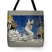 Temple Reflection Tote Bag