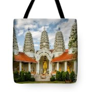 Temple Towers Tote Bag