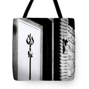 The Temple Trident Tote Bag