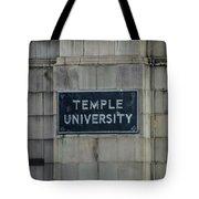 Temple U Tote Bag