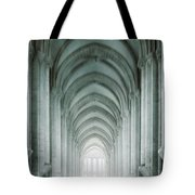 Temple Walker Tote Bag by Carlos Caetano