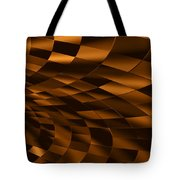 Temporal Chessboard Tote Bag