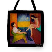 Temptation Tote Bag by Dagmar Helbig
