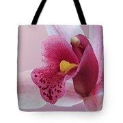 Temptation - Pink Cymbidium Orchid Tote Bag