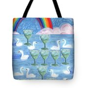 Ten Of Cups Tote Bag