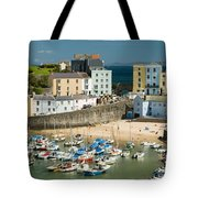 Tenby Harbour Tote Bag
