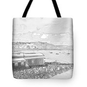 Tenby Old Lifeboat Station Tote Bag