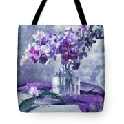Tender Moments Still Life Tote Bag