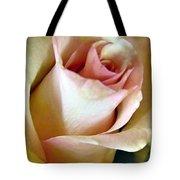 Tender Rose Bud Tote Bag