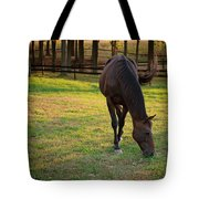 Tender Spring Grass Tote Bag