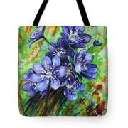 Tenderness Of Spring Tote Bag