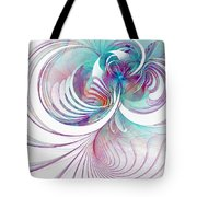 Tendrils 02 Tote Bag by Amanda Moore