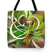 Tendrils 15 Tote Bag by Amanda Moore