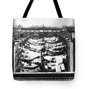 Tenement Housing Laundry Tote Bag