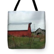 Tennesse Red Barn Tote Bag