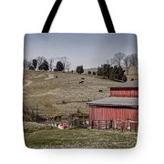 Tennessee Farmstead Tote Bag by Heather Applegate
