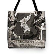 Tennessee Korean War Memorial Tote Bag by Dan Sproul