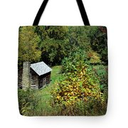 Tennessee Mountain Cabin Tote Bag
