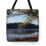 Tennessee River In Knoxville Tote Bag