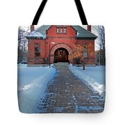 Tenney Memorial Library Newbury Vermont Tote Bag