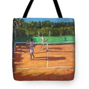 Tennis Practice Tote Bag