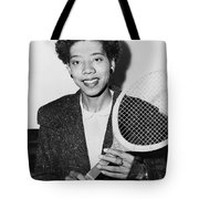 Tennis Star Althea Gibson Tote Bag