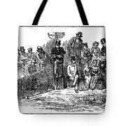 Tennis Wimbledon, 1879 Tote Bag