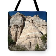 Tent Rocks 1 Tote Bag
