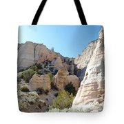 Tent Rocks 8 Tote Bag