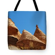 Tent Rocks Geology Tote Bag