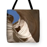 Tent Rocks Tote Bag