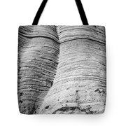 Tent Rocks Wall Tote Bag