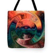 Tequila Sunrise Tote Bag by Anthony Morris