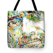 Terence Mckenna Watercolor Portrait.1 Tote Bag