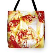 Terence Mckenna Watercolor Portrait.2 Tote Bag