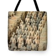 Terra Cotta Warriors Tote Bag