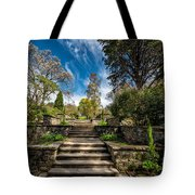 Terrace Garden Tote Bag