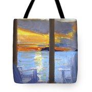 Terrace Sunset Tote Bag